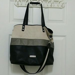 Jessica Simpson padlock shoulder bag